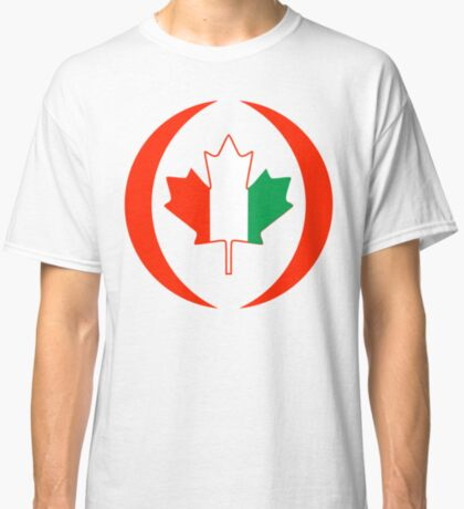 Ivory Coast Canadian Multinational Patriot Flag Series Classic T-Shirt
