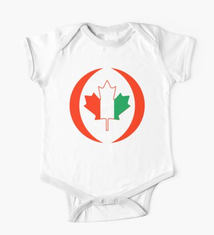 Ivory Coast Canadian Multinational Patriot Flag Series Kids Clothes