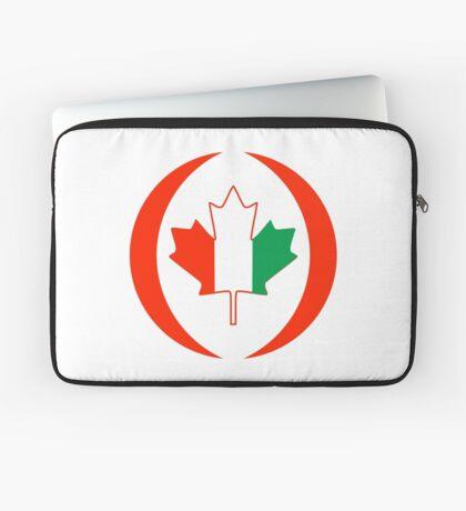 Ivory Coast Canadian Multinational Patriot Flag Series Laptop Sleeve