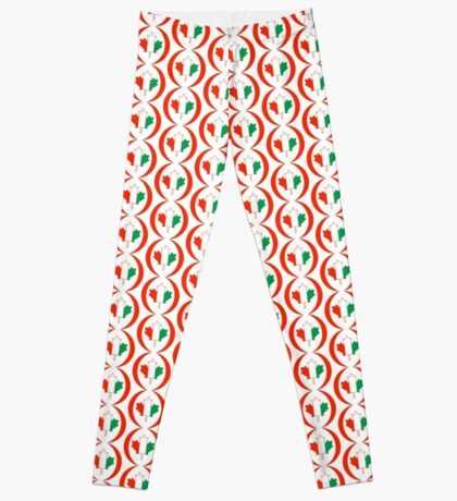 Ivory Coast Canadian Multinational Patriot Flag Series Leggings