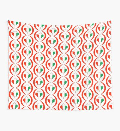 Ivory Coast Canadian Multinational Patriot Flag Series Wall Tapestry