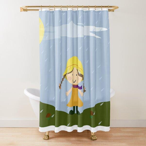 fallen Duschvorhang