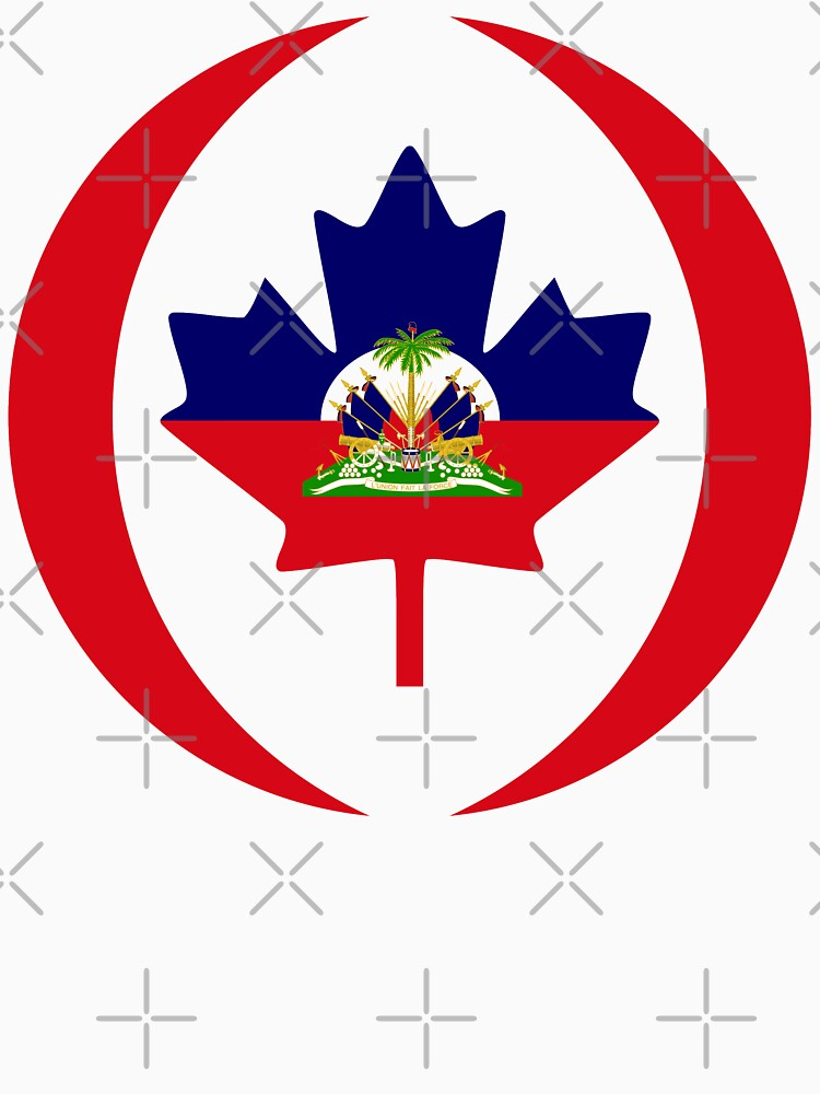 Haitian Canadian Multinational Patriot Flag Series by carbonfibreme