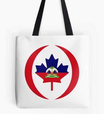Haitian Canadian Multinational Patriot Flag Series Tote Bag