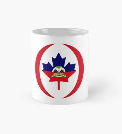 Haitian Canadian Multinational Patriot Flag Series Mug