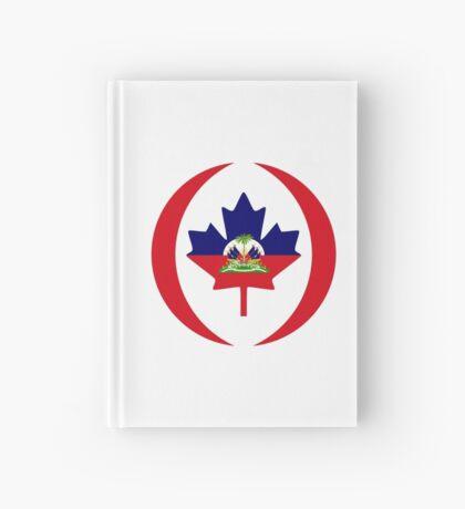 Haitian Canadian Multinational Patriot Flag Series Hardcover Journal