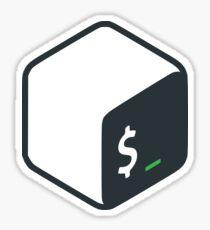 Official Bash Logo Sticker