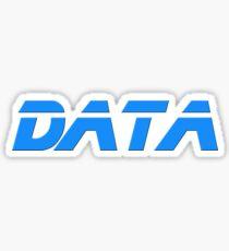 I Love Data - Coding T-Shirt Sticker