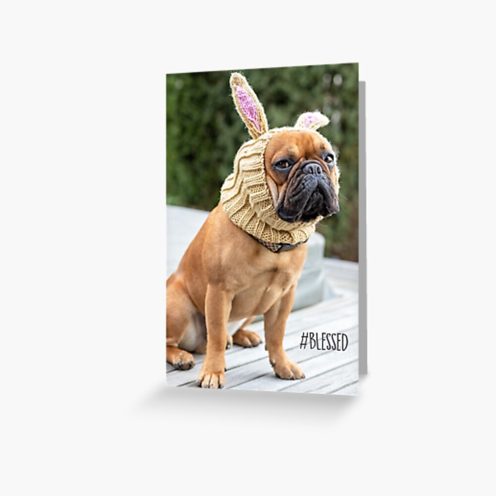 #Blessed Greeting Card Greeting Card
