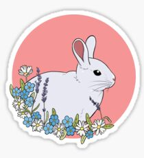 White Rabbit Sticker