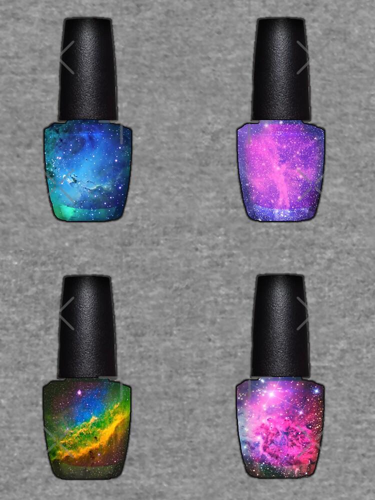 Galaxy Nail Polish Bottle Set 1\