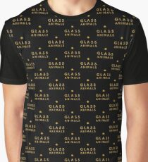 Glass Animals Yellow Graphic T-Shirt