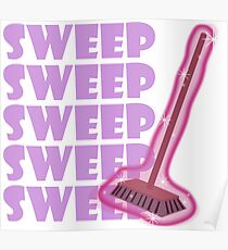 Twilight Sparkle Sweep My Little Pony Poster