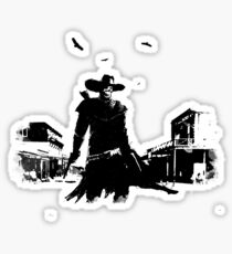 gunslinger Sticker