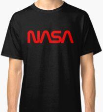 NASA Worm logo Classic T-Shirt