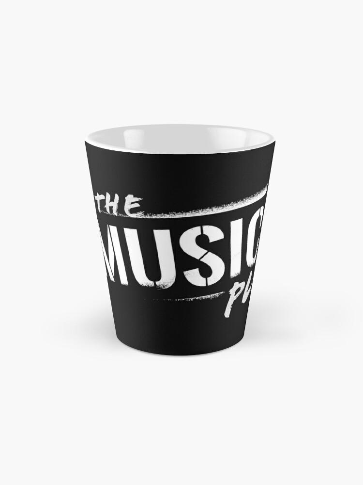Alternate view of Let The Music Play logo Mug