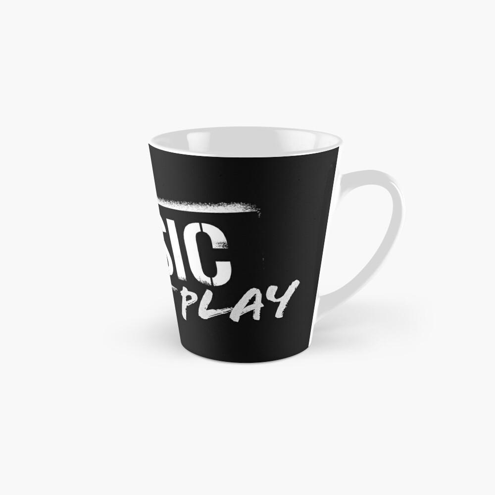 Let The Music Play logo Mug