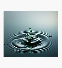 Three Little Drops ~ Water Drops Photographic Print