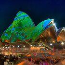 Luminous Opera House by Erik Schlogl
