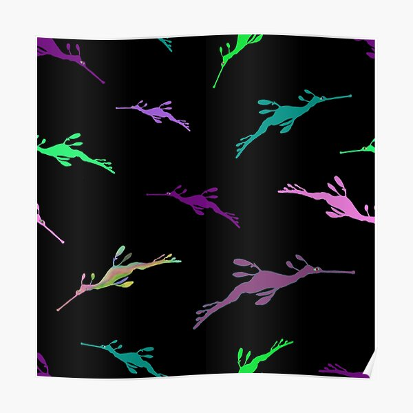Weedy Sea Dragons Repeat Poster