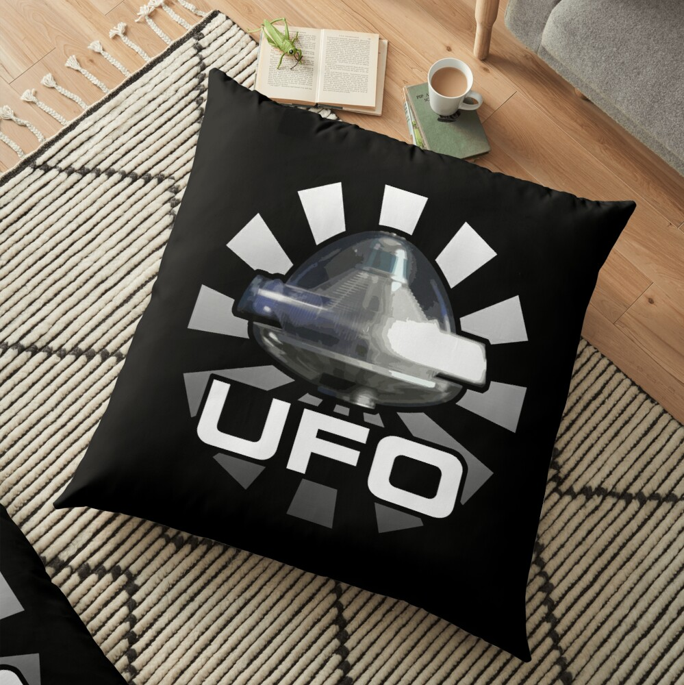 Gerry Anderson's UFO - ALIEN SPACECRAFT Floor Pillow