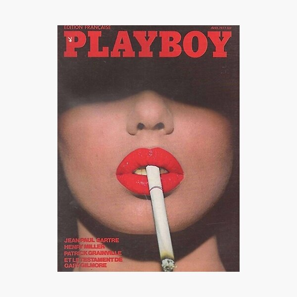 Playboy 1977 Photographic Print