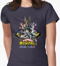 My Hero Academia Womens Fitted T-Shirt