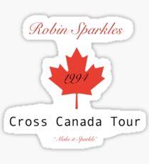 robin sparkles  Sticker