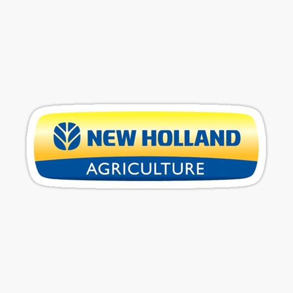Agriculture Blue Leaf Sticker