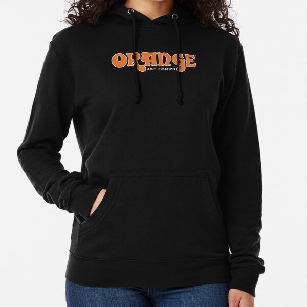 Orange Amplification Lightweight Hoodie