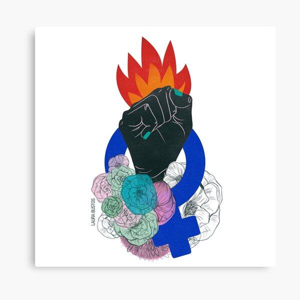 The Feminist Struggle 2 Canvas Print