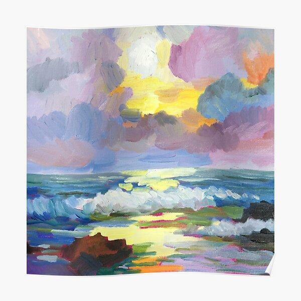 Ocean Sky by Paul Cumes  Poster