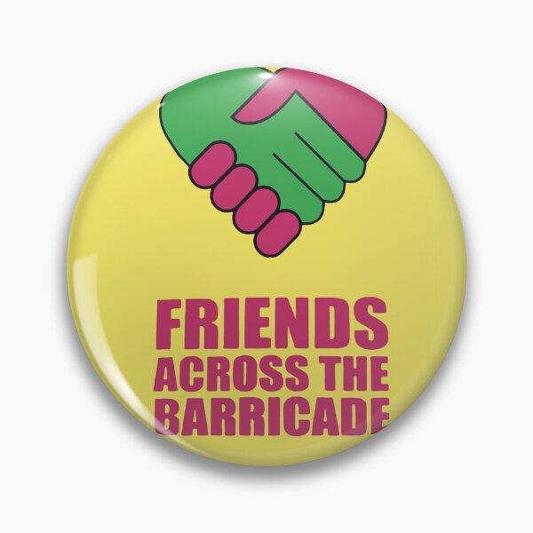 Friends across the barricade. Derry Girls, TV Show, Netflix Pin