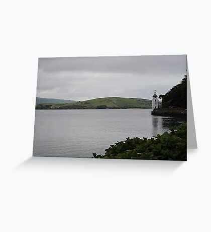Lonesome Tower Greeting Card