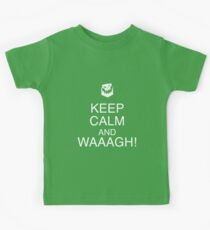 Keep Calm and WAAAGH! Kids Clothes