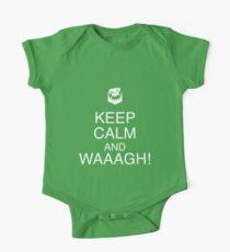 Keep Calm and WAAAGH! Kids Clothes