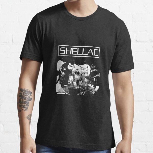 shellac 3 round playing guitar (black) Essential T-Shirt