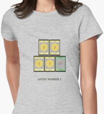 Dominion - Lucky Number 7 Womens Fitted T-Shirt