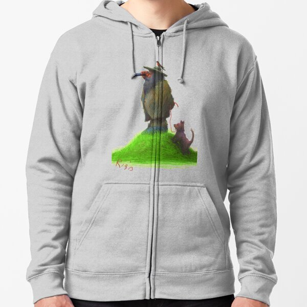 WHAT DO YOU SEE? Zipped Hoodie