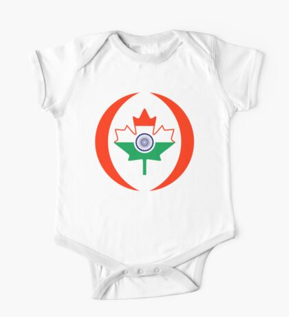 Indo Canadian Multinational Patriot Flag Series Kids Clothes