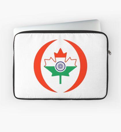 Indo Canadian Multinational Patriot Flag Series Laptop Sleeve