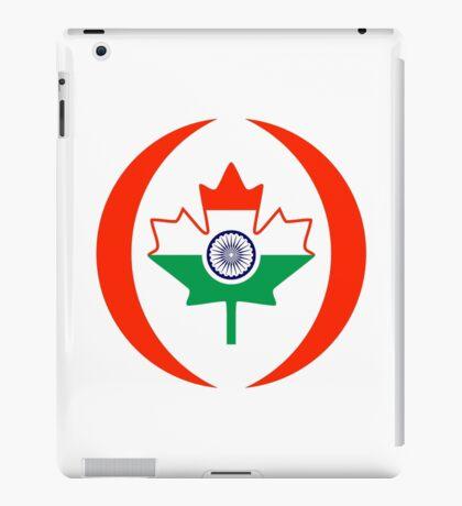 Indo Canadian Multinational Patriot Flag Series iPad Case/Skin