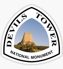 Devils Tower National Monument Sticker
