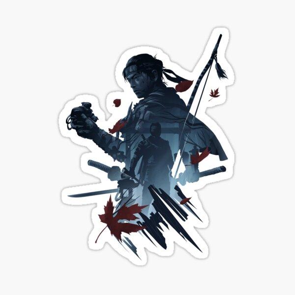 Samurai of Tsushima Jin Sakai Sticker