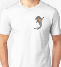 Swimming Shark Isolated T-Shirt