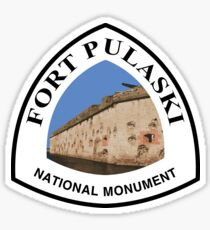 Fort Pulaski National Monument Sticker