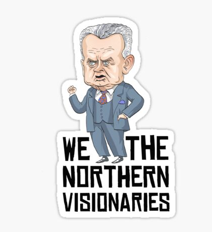 Dief the Northern Visionary Sticker