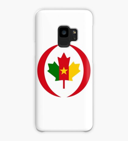 Cameroon Canadian Multinational Patriot Flag Series Case/Skin for Samsung Galaxy