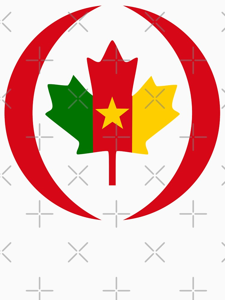 Cameroon Canadian Multinational Patriot Flag Series by carbonfibreme
