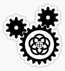 BlackGearsEpcotCenter Sticker